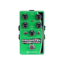 PIGTRONIX RINGMASTER ANALOG MULTIPLIER Harmonizer / Tremolo FX Pedal for Guitar or Bass $5 Instant Coupon Use Promo Code: $5-OFF