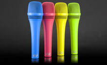 MXL POP LSM-9 Dynamic Stage Vocal Microphones in (4) Bright Colors