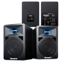 NUMARK NWAVE 580 Illuminated LED Tweeter Nearfield Reference Monitor Pair $5 Instant Coupon use Promo Code: $5-OFF