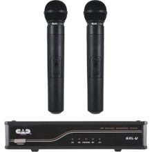 CAD GXLUHH Dual Cardioid Dynamic Handheld UHF Wireless Microphone System $5 Instant Coupon Use Promo Code: $5-OFF