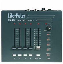 LITE-PUTER CX-403 4 Channel Light Controller with Chase and Built-in Programs $5 Instant Coupon Use Promo Code: $5-OFF