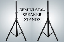 GEMINI ST-04 Pair of Tripod Speaker Stands with Optional Carry Bag $5 Instant Coupon Use Promo Code: $5-OFF