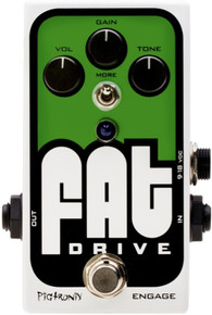 Pigtronix Fat Tube sound overdrive guitar pedal $10 Instant Coupon  Promo Code: $10-OFF