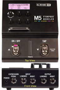 Line 6 M5 Stompbox Modeler Multi FX Guitar Processer Interface $5 Instant Coupon Use Promo Code: $5-OFF