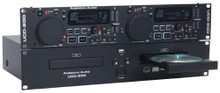 American Audio UCD-200 dual rackmount cd player $10 Instant Coupon use Promo Code: UCD200