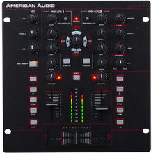 AMERICAN AUDIO 10MXR DJ 2 Channel Midi Mixer $10 Instant Coupon Use Promo Code: 10MXR