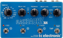 TC Electronic Flashback X4 multiple FX guitar Processer interface $10 Instant Coupon use Promo Code: $10-OFF
