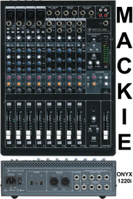 Mackie Onyx 1220i firewire recording mixer $25.00 Instant Coupon  use Promo Code: $25-OFF