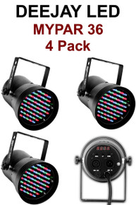 Deejay LED Mypar 36 4 Pack Pinspots $15 Instant Coupon use Promo Code: $15-OFF