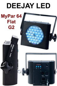 Deejay LED Mypar 64 flat g2 wash light $5 Instant Coupon use Promo Code: $5-OFF