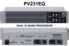 PEAVEY PV231EQ Dual 31-Band Graphic Processor $5 Instant Coupon use Promo Code: $5-OFF