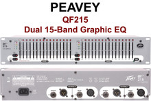 Peavey QF215 dual 15 band graphic EQ Processor $5 Instant Coupon use Promo Code: $5-OFF