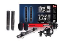 Jammin Pro C-20 matched studio condenser mics $10 Instant off use Promo Code: $10-OFF