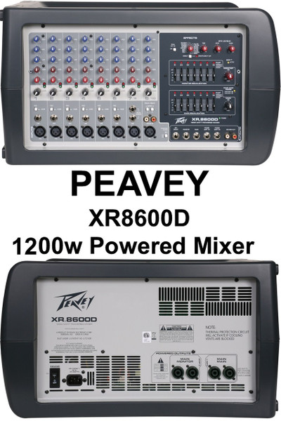 peavey xr8600d manual best setting instruction guide u2022 rh joypagames com peavey xr8600d review Peavey 1200 Mixer