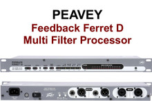 Peavey Feedback Ferret D multi filter Processor $5 Instant Coupon use Promo Code: $5-OFF