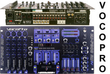 VOCOPRO KJ-7808 RV Professional Rackmount KJ/DJ/VJ Mixer with DSP FX & Digital Key Control $20 Instant Coupon use Promo Code: $20-OFF