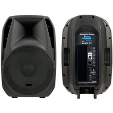 AMERICAN AUDIO ELS-15BT Active Bluetooth PA Speaker System Pair with Built-in MP3 Player $10 Instant Coupon use Promo Code: 10-OFF