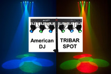 American DJ Tribar Spot (6) LED lights $25 Instant Coupon  use Promo Code: $25-OFF