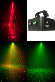 American DJ galaxian 3d mkII dual rotating Laser FX $10 Instant Coupon use Promo Code: $10-OFF