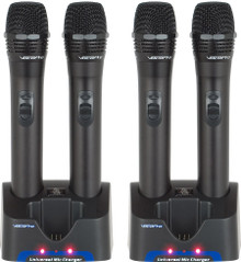 VocoPro uhr-3 or uhr-4 (4) rechargeable wireless mics $10 Instant Coupon use Promo Code: $10-OFF