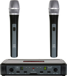 GALAXY ECDR/HH38 Dual Handheld Wireless Mic System $5 Instant Off Use Promo Code: $5-OFF
