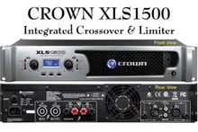 Crown xls1500 powerful rackmount Amplifier $20 Instant Coupon use Promo Code: $20-OFF