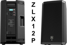 "EV ZLX12P 2000w Active 12"" PA Speaker System Pair $25 Instant Coupon Use Promo Code: $25-OFF"