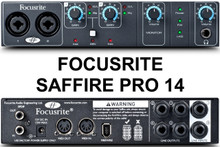 FOCUSRITE SAFFIRE PRO 14 Firewire Interface