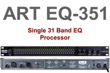 ART EQ351 1U Single 31 Band Equalizer Processor $5 Instant Coupon Use Promo Code: $5-Off