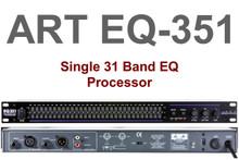 ART EQ351 1U Single 31 Band Equalizer Processor $5 Instant Coupon Use Promo Code: $5-Off