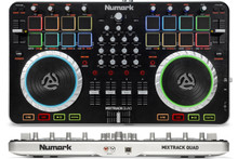 NUMARK MIXTRACK QUAD 4 Channel DJ Controller $20 Instant Coupon Use Promo Code: $20-OFF