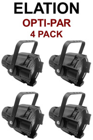 ELATION OPTI-PAR 4 Pack Aluminum Lights $20 Instant Coupon Use Promo Code: $20-OFF