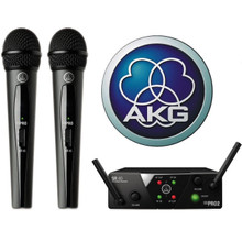 AKG WMS40 Mini Dual Mics with Dual Receiver $10 Instant Coupon use Promo Code: $10-OFF