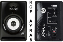 RCF ayra 8 nearfield reference studio computer monitors $10 Instant Coupon use Promo Code: ayra8