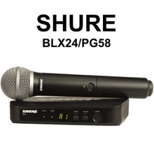 Shure blx24/pg58 handheld wireless mic system $20 Instant Coupon use Promo Code: $20-OFF
