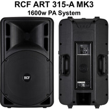 RCF ART 315-A MKIII Active PA System $75 Instant Coupon Use Promo Code: $75-OFF