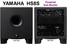 "YAMAHA HS8S Compact 8"" Active High Power 150w Studio Subwoofer $20 Instant Coupon Use Promo Code: HS8S"