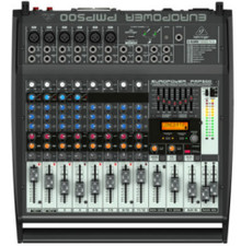 BEHRINGER PMP500 12 Channel 500w Powered Mixer $20 Instant Coupon Use Promo Code: PMP500
