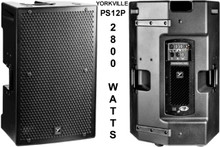 YORKVILLE PS12P Active 2800w PA System Speaker Pair $100 Instant Coupon Use Promo Code: $100-OFF