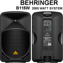 BEHRINGER B115W 2000w Wireless Option PA Speaker System $75 Instant Coupon Use Promo Code: $75-OFF