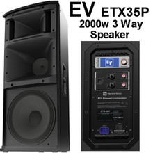 EV ETX35P 2000 Watt 3 Way 136dB Speaker System $75 Instant Coupon Use Promo Code: $75-OFF