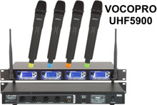VocoPro uhf5900 (4) mic rackmount wireless system $20 Instant Coupon Promo Code: $20-OFF