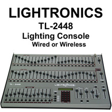 LIGHTRONICS TL-2448 48 Channel Feature Rich Lighting Console $100 Instant Coupon use Promo Code: $100-OFF