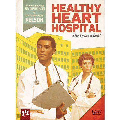 Healthy Heart Hospital - Co-Op Board Game - Victory Point Games