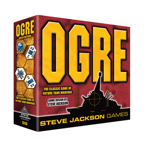 Ogre (6th Edition) - Tank Warfare Game - Steve Jackson Games