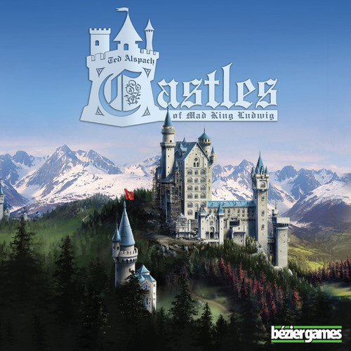 Castles of Mad King Ludwig- The Board Game - Bezier Games