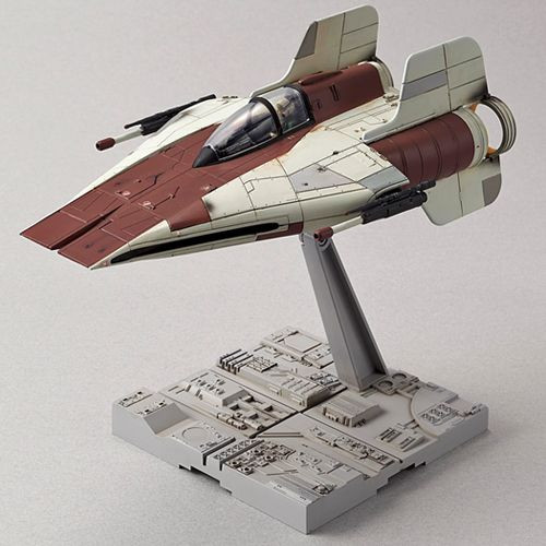 STAR WARS - Return of the Jedi - A-Wing - 1:72 Model Kit - Bandai Hobby