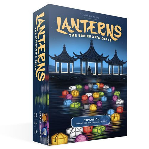 Lanterns - The Emperor's Gifts - Board Game Expansion - Renegade Games