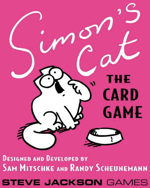 Simon's Cat - The Card Game - Steve Jackson Games