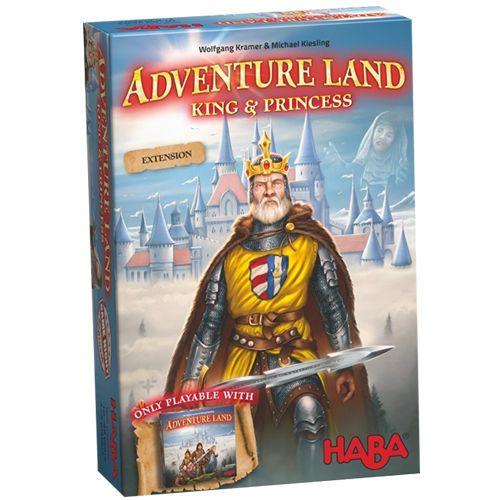 AdventureLand - The Kings & Princesses Expansion - HABA Games